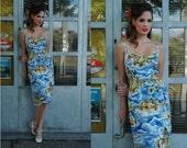 Blue Hawaii Pin-up dress