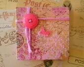 Pink Script Journal