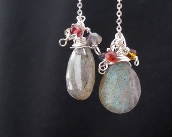 Spiritual Awakening Labradorite Sterling Silver Earrings