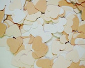 Paper Confetti Hearts- White Mix