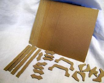 Tim Holtz Vintage Valise Chipboard mini album kit