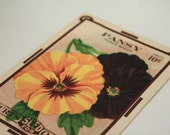Vintage 1910's NOS Pansy Seeds.