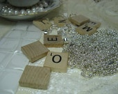 Special Listing for Karey/Scrabble Tile Necklace Pendant Kit Supplies as listed