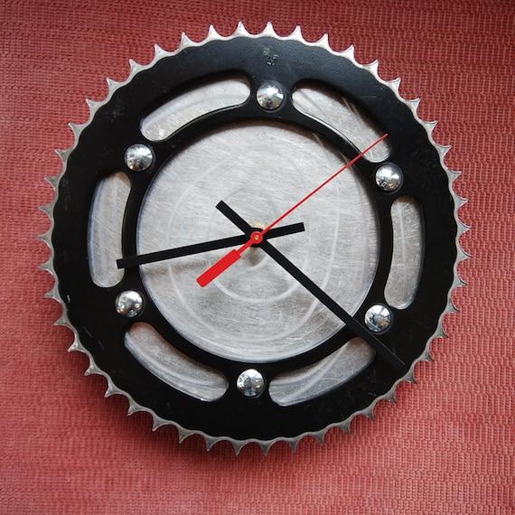 Dark Knight Sprocket Clock