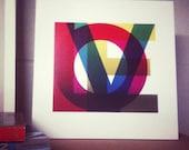 LOVE Print - Archival Print - 11 x 11