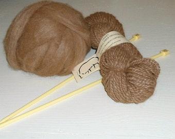 Alpaca Bamboo Fiber- Felt Rovings - Roving Spinning - Alpaca Roving 4oz from Colorado
