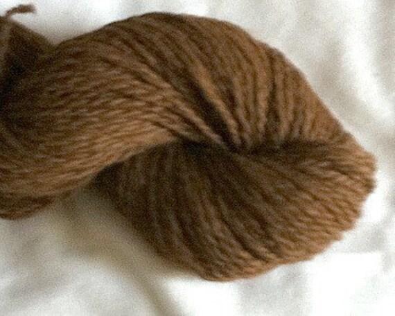 Brown alpaca yarn knit crochet sports weight from Arvada, CO