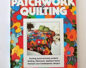 Patchwork Quilting book by Better Homes and Gardens