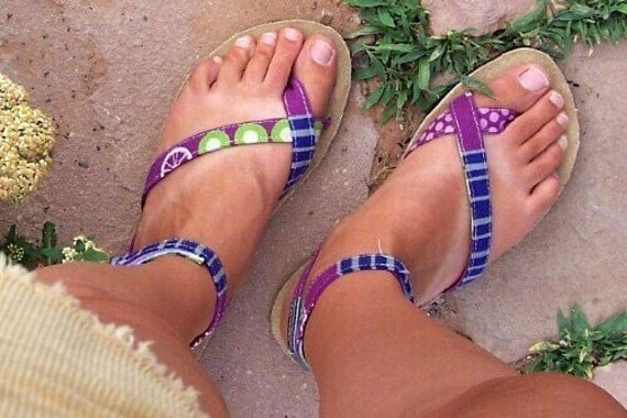 Women's Sandals - Learn How to Make Sandals- PDF Instruction E-Book and Patterns INSTANT Download -Sizes 5-12 USA