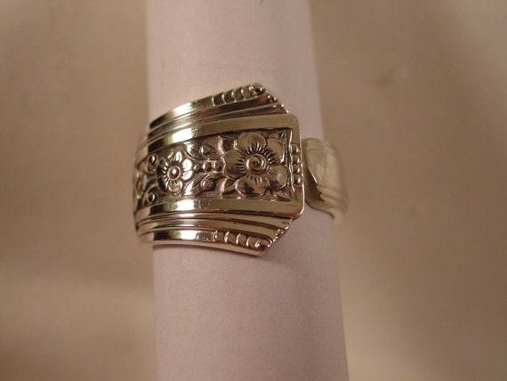 Spoon ring  size 12 1/2 vintage spoon rings ......D/3/54