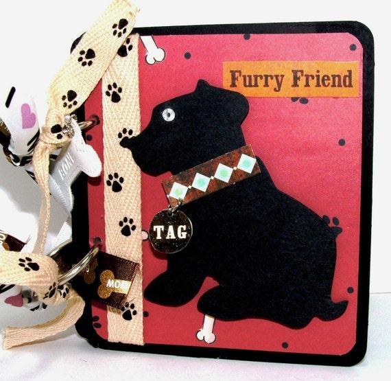 Puppy Dog Mini Album, Pet Photos, Pet Lover Gift