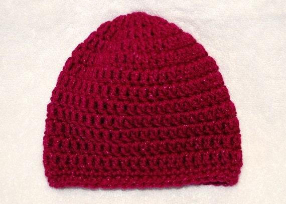 Fuchsia Pink Sparkle Hat