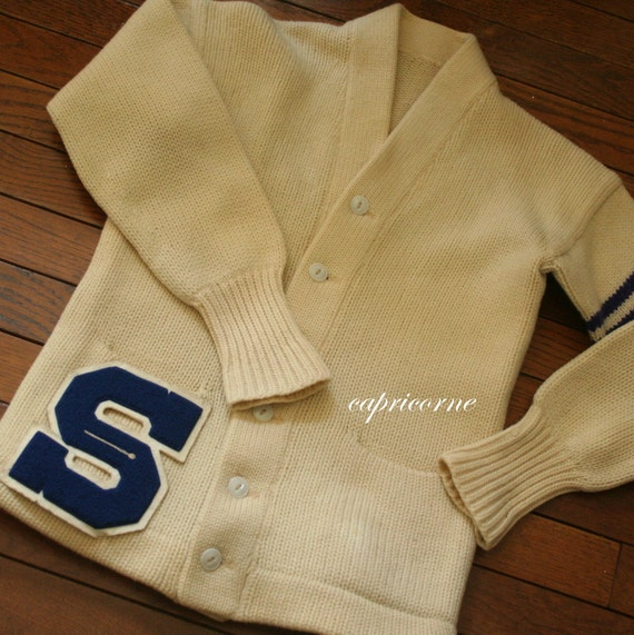 Vintage Letter Sweaters 25