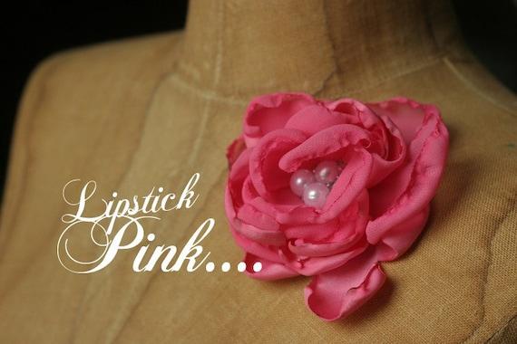 Lipstick Pink Large