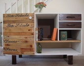 Vintage Drawers Credenza - Reserved for Dawn