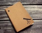 Telescope to the Stars Moleskine Notebook Journal - Pocket Size Notebook Back to School