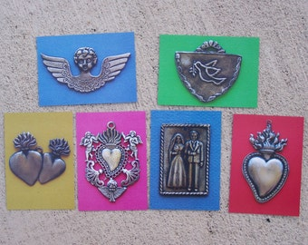 Lot of 6 Different Milagro Picture Post Cards