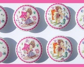 8 Fancy Nancy kids girls  Dresser Drawer Knob