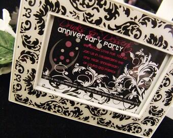Damask Anniversary / Wedding / Shower- DIY Printable Invitation