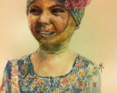 custom portrait painting for a child
