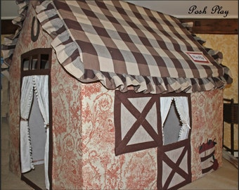 Similiar to be made Our Horse Barn playhouse