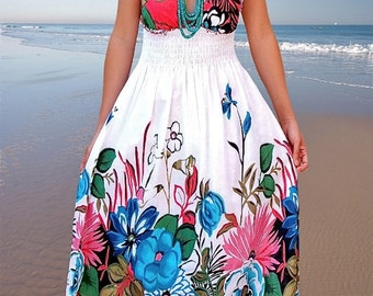 Ladies dress/Sun dress/Women dresses /floral dresses/summer dresses