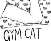 Gym Cat- Zine