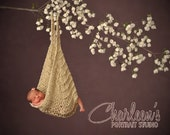 Baby hammock, great photography prop Ready to ship today