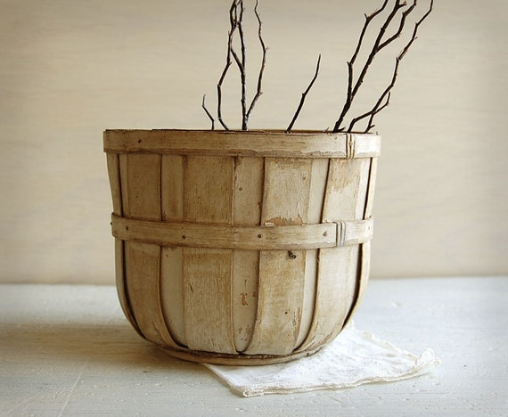 reserved Wooden Orchard Basket