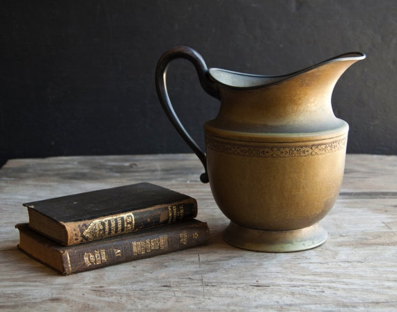 Rustic Victorian Pitcher Vase