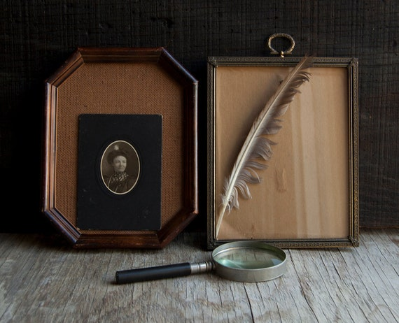 Victorian Wooden and Metal Frame Collection