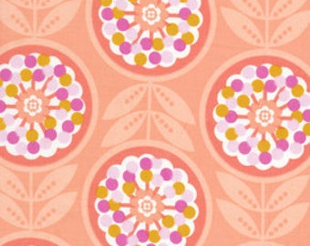 CLEARANCE - Erin McMorris Weekends, Lollies in Peach, 1 yard, Cotton Fabric
