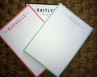 Customized 5x7 Notepads