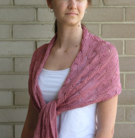 SALE - Pink Lace Wrap - Mother's Day SALE