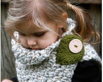 Crochet PATTERN-The Autumn Cowl (Child, Adult sizes)