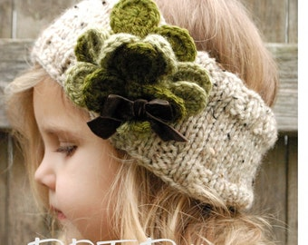 Knitting PATTERN-The Shamrynn Warmer (Toddler, Child, Adult sizes)