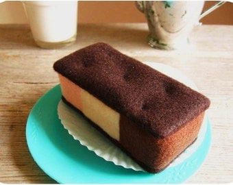 Felt Food Neapolitan Ice Cream Sandwich