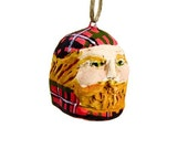 27 Highlanders in Campbell of Cawdor tartan - Hand Sculpted Ornaments - 50% initial payment -reserved for Tara