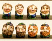 27 Highlanders in Campbell of Cawdor tartan - Hand Sculpted Ornaments - 50% final payment -reserved for Tara