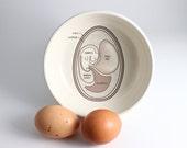 Egg Anatomy Illustration Bowl