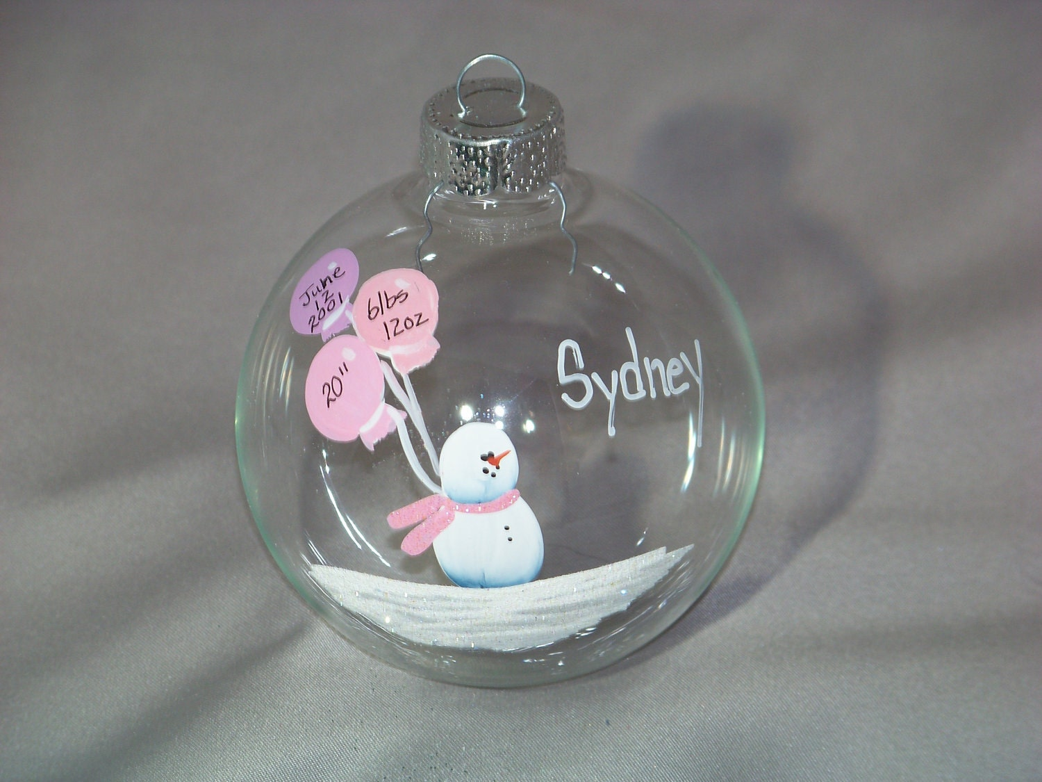 Personalized Baptism/ Christening/ Shower Gift Time Capsule