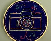 Camera Embroidery
