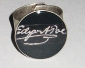 Masters of Their Trade No. 1: Edgar Allan Poe Signature Resin Ring