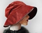 SALE SALE SALE Vintage 1970s Velvet Hat