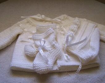 White Layette Set