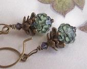 Chocolate Mint Earrings