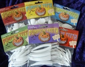 Pumpkin teeth 6 Pack Special. for Pumpkins, Masks ,Costumes, Dolls,Claws etc. (72 Teeth in total)