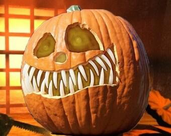 6 pack  Pumpkin Teeth for Mask Making, Dolls,Teddy Bear Transformations & Pumpkins, 3 packs,Fangs 3 packs Buck teeth sm, med, lg (72pcs)