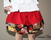 Skirt baby, toddler, girls boutique skirt Love Letters / SALE size