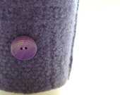 Coffee Cozy LAVENDER Felted Sweater Wool Coffee Cosy WormeWoole